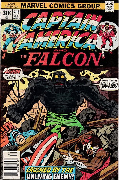 Captain America 204 Jack Kirby Art & Script