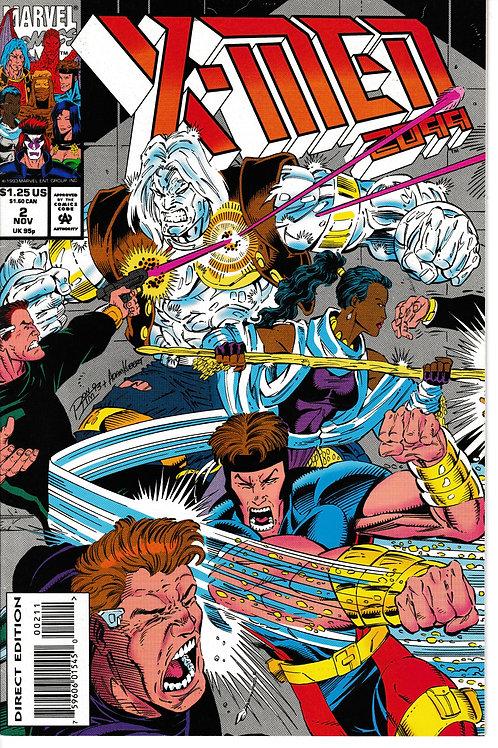 X-MEN 2099 Vol 1 2 Nov 93 Synge City Blues