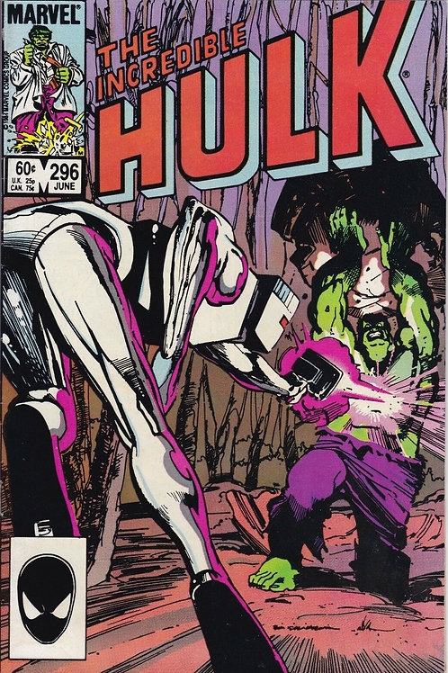 INCREDIBLE HULK 296 Jun 84 Rom Spaceknight Guest