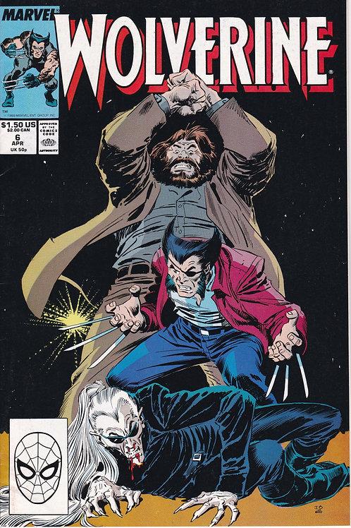 Wolverine 6 McFarlane Art Back Cover