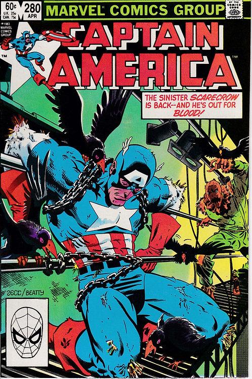 Captain America 280 Scarecrow Appearance