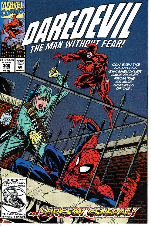DAREDEVIL 305 May 97 Spider-Man Appearance