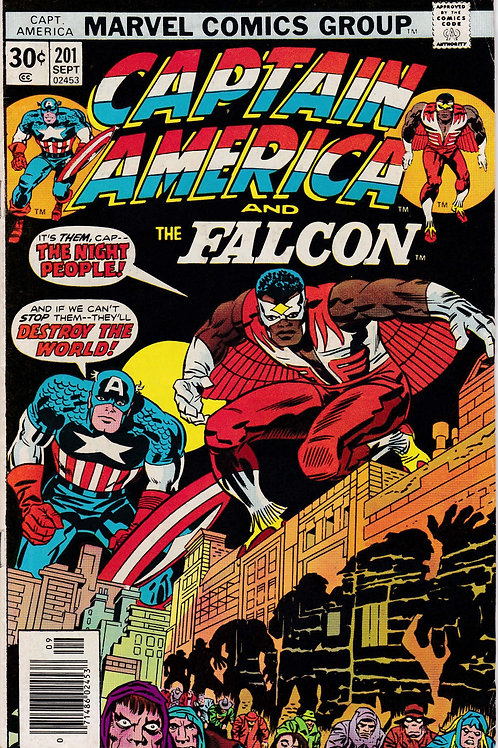 Captain America 201 Jack Kirby Script & Art