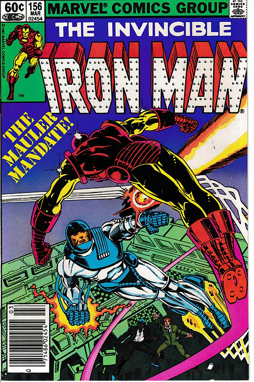 IRON MAN 156 Mar 82 Introducing the Mauler