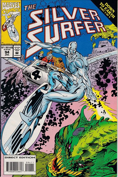 Silver Surfer 94 Fantastic Four Warlock Infinity Watch
