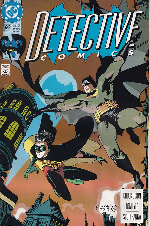 DETECTIVE 648 DC Aug 92 1st Full Appearance of Spoiler Stephanie Brown