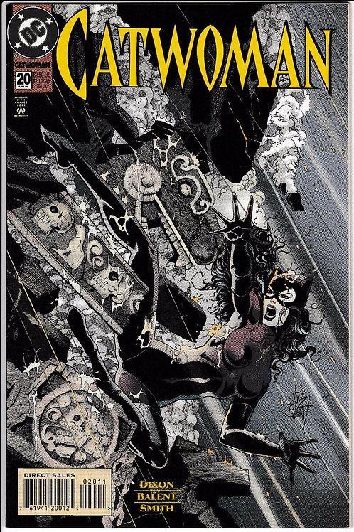 CATWOMAN 20 DC Comics 1993 Series