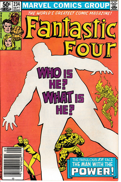 FANTASTIC FOUR 234 Sept 81 John Byrne Story & Art