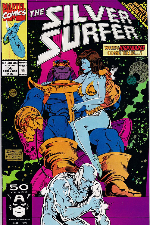 Silver Surfer 56 Infinity Gauntlet X-Over