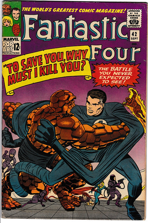 FANTASTIC FOUR 42 Sept 65 Marvel Vol 1  Frightful Four Appearance