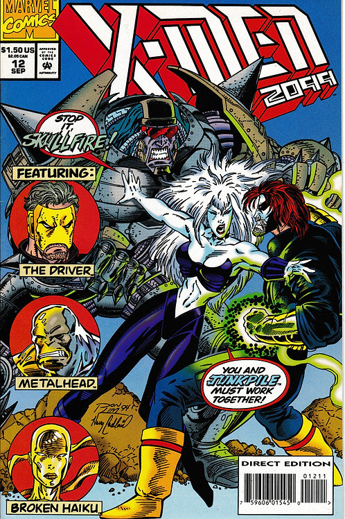 X-MEN 2099 Vol 1  12 Sept 94 Who will remain X-Men?