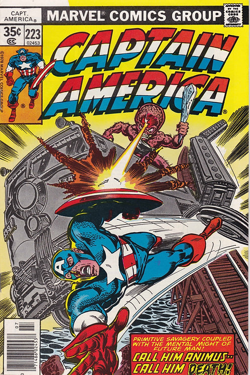 Captain America 223 John Byrne Pencils