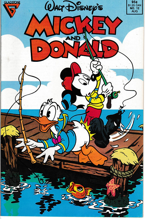 WALT DISNEY'S MICKEY & DONALD 12 Aug 89