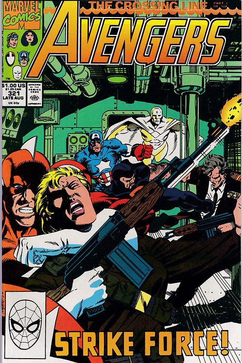 AVENGERS 321 Marvel Vol 1 Aug 90 VF N/M Never Read NOS Guest Stars Alpha Flight