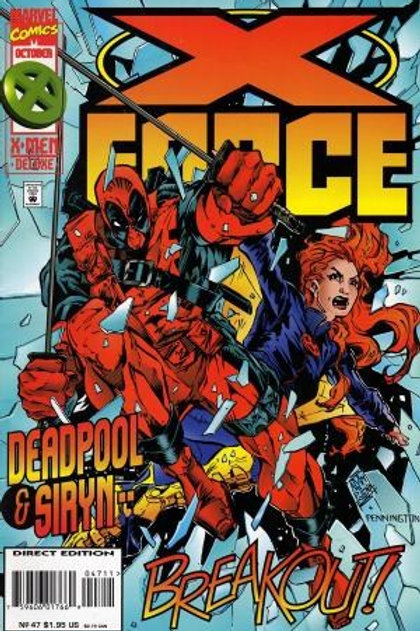 X-Force 47 with 2 Bound in Trading Cards