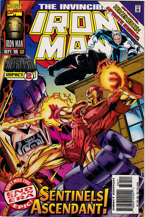 Iron Man 332 Final Issue Onslaught Impact 2