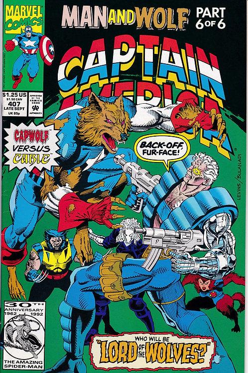 Captain America 407 Man & Wolf Pt 6 of 6