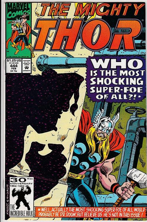 THOR 444 Feb 92 Thor battles the Groonk