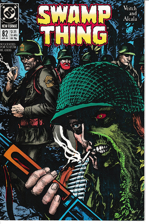 SWAMP THING 82 DC Jan 89 In the Middle of a War
