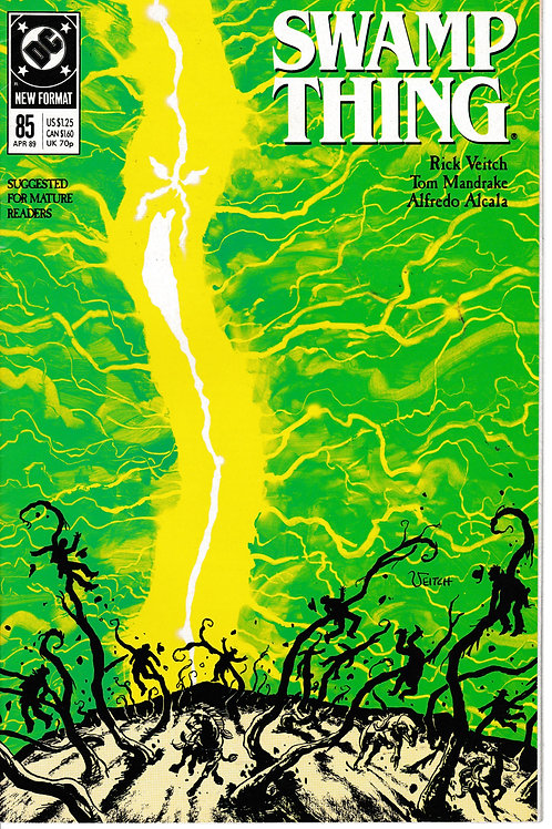 SWAMP THING 85 DC Apr 89 Meets Heroes from DC'S Past