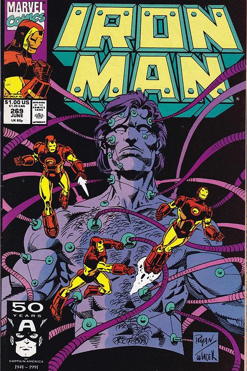 Iron Man 269 John Byrne Scripts