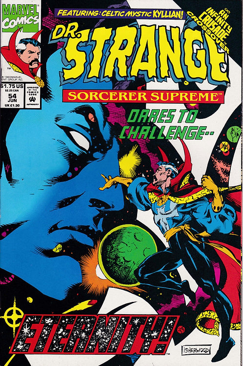 DOCTOR STRANGE SORCERER SUPREME 54 Marvel Jun 93 Infinity Crusade X-Over