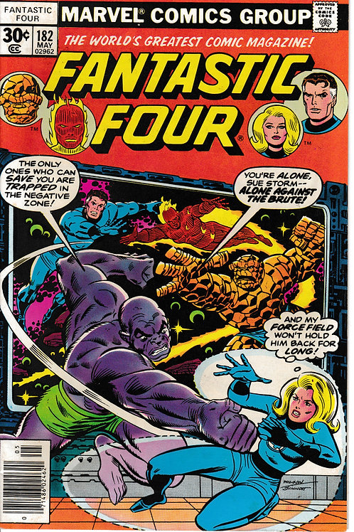 FANTASTIC FOUR 182 May 77 Annihilus Appearance