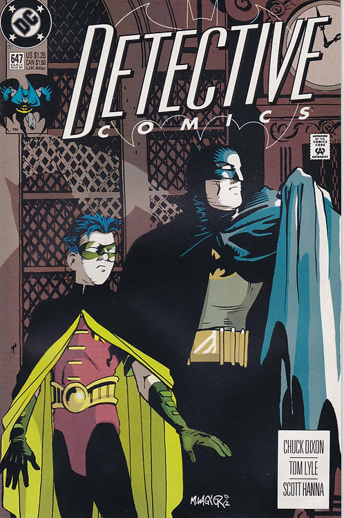 DETECTIVE 647 DC Aug 92 1st Appearance Stephanie Brown