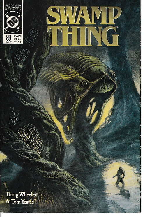 SWAMP THING 89 DC Nov 89 Mysterious Amber