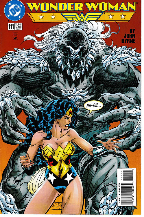 WONDER WOMAN 111 July 96 DC 2nd Series Level Part 3 of 4 Doomsday John Byrne