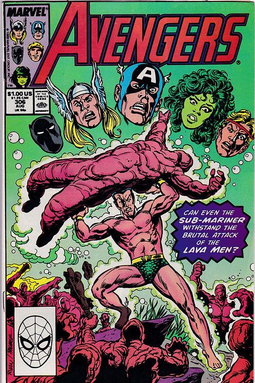 Avengers 306 Marvel Vol 1 Aug 89 John Byrne script