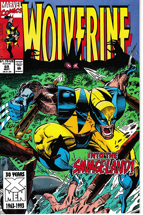 WOLVERINE 69 May 93 New Old Stock Guest-stars Jubile & Rogue