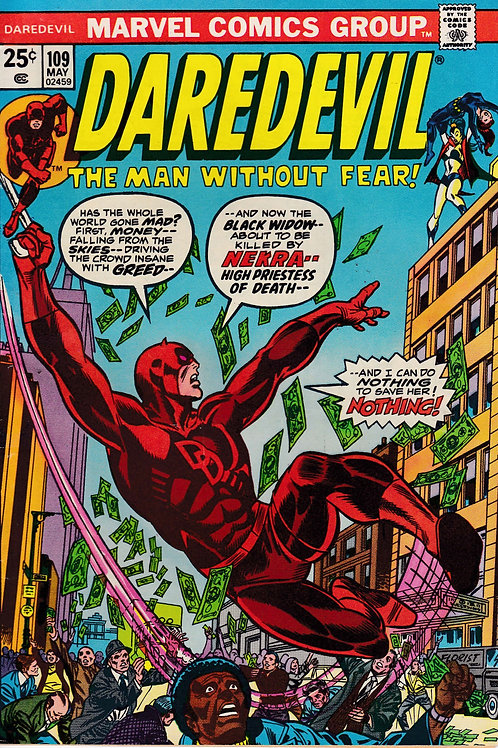 DAREDEVIL 109 May 74 Shanna the She Devil Appearance