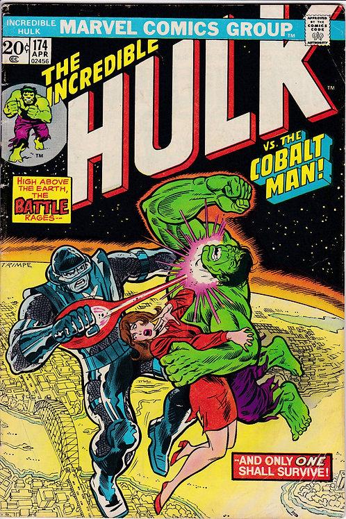 Incredible Hulk 174 Verses The Cobalt Man