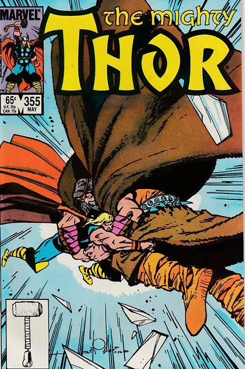 THOR 355 May 85 VF N/M Never Read New Old Stock Walt Simonson Scripts