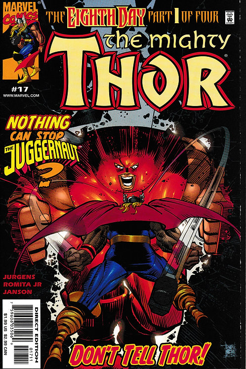 THOR 17 Vol 2 Marvel Nov 99 Inc 8 Page Spider-Man Insert