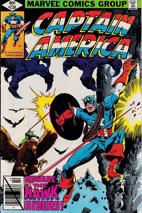 Captain America 238 Guest Stars Nick Fury
