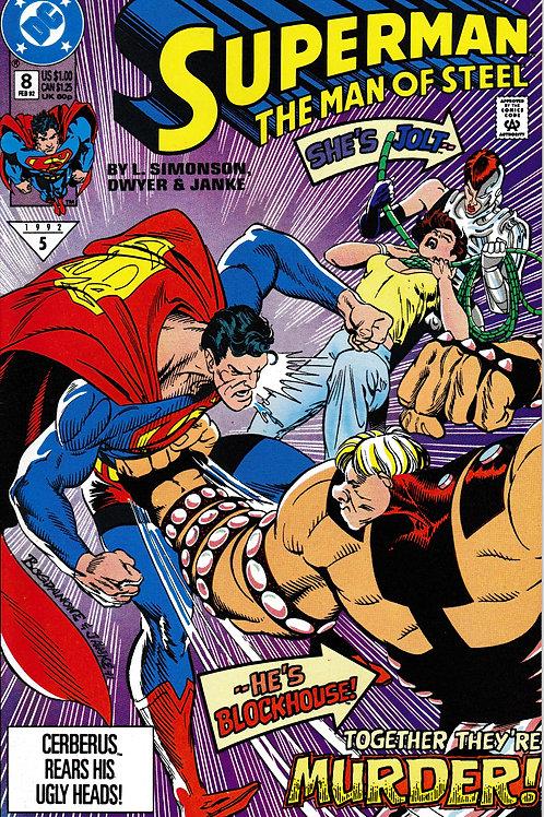 Superman The Man of Steel 8 DC Feb 92 Lois Lane Captured