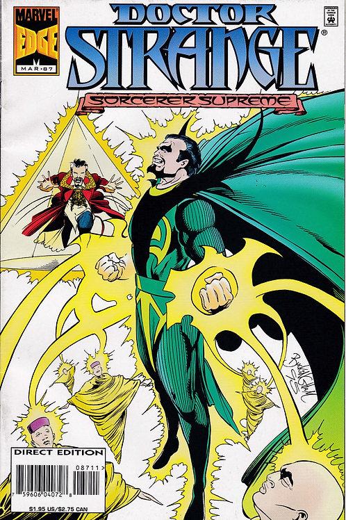 DOCTOR STRANGE SORCERER SUPREME 87 Marvel Mar 96 Baron Mordo Dies
