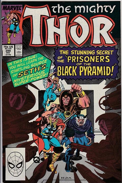 THOR 398 Dec 88 Marvel Comics 1st Appearance of Caber