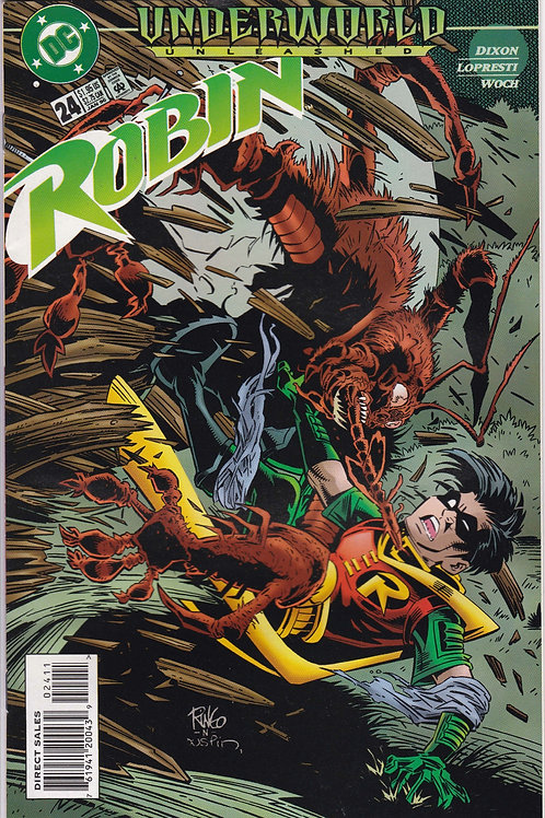 ROBIN 24 Marvel Jan 96 Underworld Unleashed tie-in