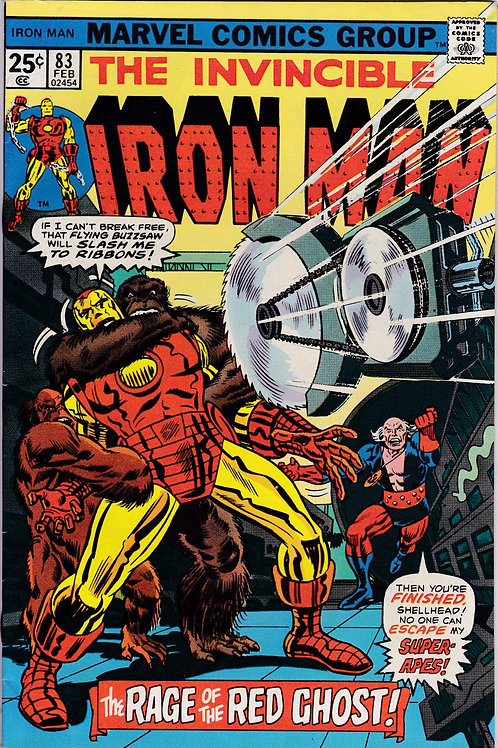 Iron Man 83 Red Ghost Appearance