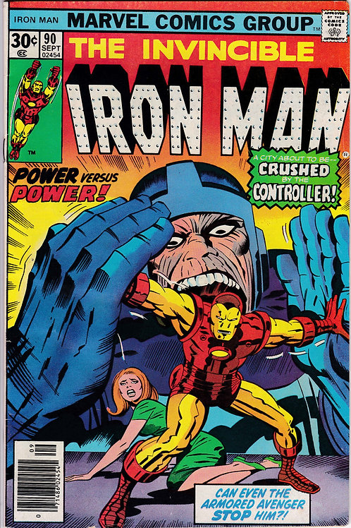 Iron Man 90  Blood Brothers & Controller Appearance
