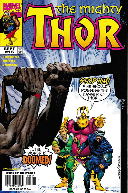 THOR 15 Vol 2 Marvel Sept 99 Enchanters Saga Pt 2
