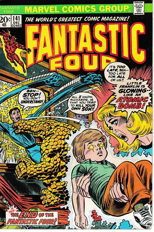 FANTASTIC FOUR 141 Dec 73 Marvel Vol 1 Appearance Annihilus
