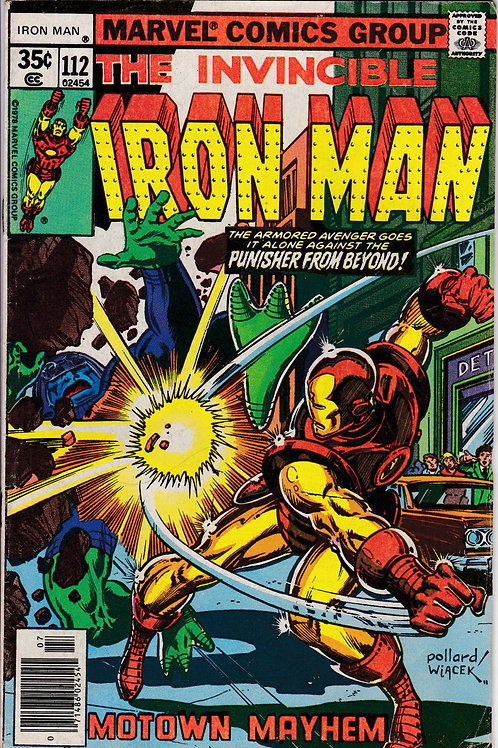 Iron Man 112 Guest Stars Jack of Hearts
