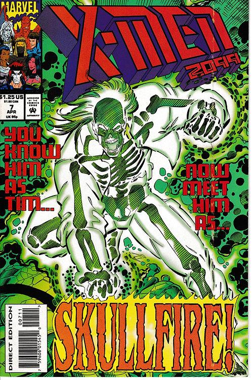 X-MEN 2099 Vol 1 7 Hurricane Force