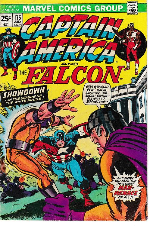 CAPTAIN AMERICA 175 Jul 74  X-Men Cross-Over