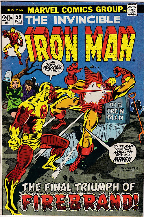 Iron Man 59 Firebrand Appearance