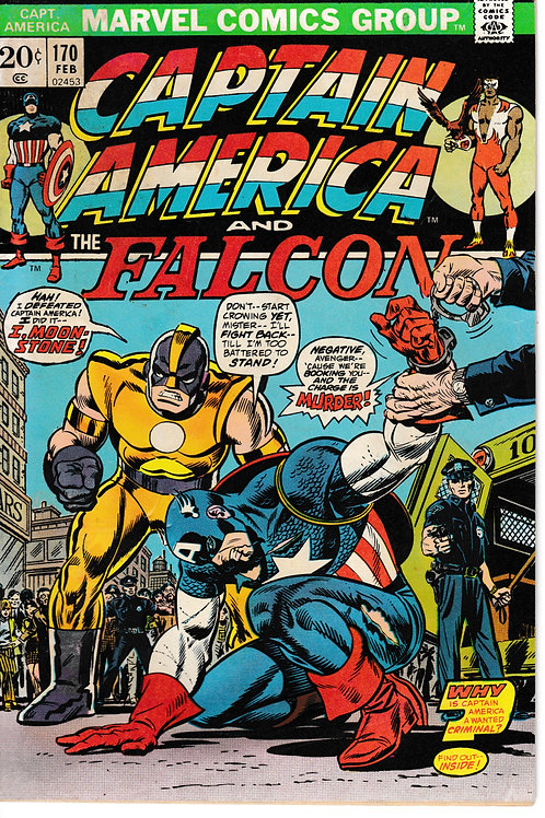 CAPTAIN AMERICA 174 Feb 74 VS Original Moonstone